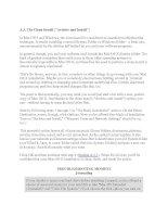 Tài liệu A.5. The Clean Install (