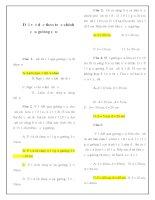Tài liệu Bài tập trắc nghiệm dời vật dọc theo trục chính của gương cầu docx
