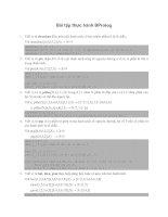 Tài liệu Bài tập thực hành BProlog pptx