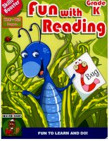 Skills Booster-  Fun with reading -  Grade K