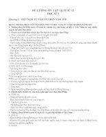 ĐỀ CƯƠNG ôn tập LỊCH sử 12