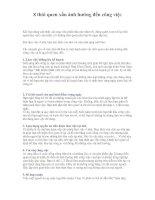 Tài liệu 8 thói quen xấu ảnh hưởng đến công việc ppt
