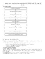 Tài liệu Chiến lược và Chính sách kinh doanh - Phân tích môi trường và hệ thống thông tin quản trị (MIS) ppt