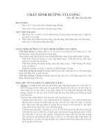 Tài liệu CHẤT DINH DƯỠNG VI LƯỢNG - ThS. BS. Đào Thị Yến Phi pptx