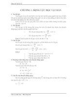 Tài liệu Chương 1: Động lực học vật rắn doc