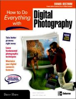 Tài liệu How to Do Everything with Digital Photography pdf