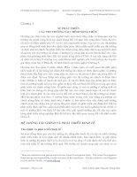 Tài liệu SỰ PHÁT TRIỂN CÁC THỊ TRƯỜNG TÀI CHÍNH NÔNG THÔN doc