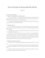 Tài liệu Giáo trình Nguyên tắc phương pháp thẩm định giá (phần 2) pptx