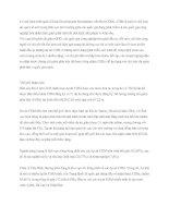 Tài liệu Cơ chế phát triển sạch pdf