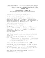 Bài giảng LOI GIAI CHI TIET DE THI THANG 12