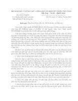 Gián án CV10227-2001-BGD ( Hướng dẫn đánh giá xếp loại giờ dạy ở bậc trung học)