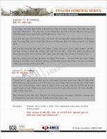 Tài liệu Lesson 11: A meeting doc