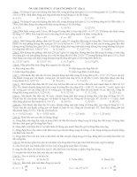 Gián án ôn chương 5 cảm ưng điện từ