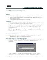 Tài liệu Lab 1.1.6 PC Network TCP/IP Configuration docx