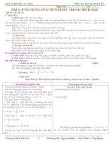 Gián án Bài 3: Ứng dụng của tích phân trong Hình Học