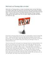 Tài liệu Hình ảnh và Thương hiệu cá nhân ppt