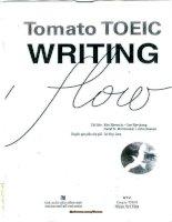 TOMATO TOEIC WRITING FLOW (part 1 )