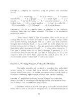 Tài liệu Developing writting skills 1 part 3 doc