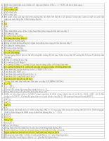 Tài liệu 295 câu trắc nghiệm vật lý (Có đáp án) pptx