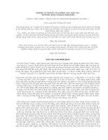 Tài liệu NHỮNG GÌ NGƯỜI TA KHÔNG DẠY BẠN TẠI HARVARD doc