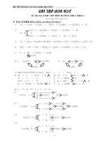 Tài liệu Bài tập dành cho học sinh giỏi môn Hóa THCS