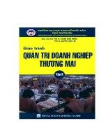 Tài liệu Giáo trình quản trị thương mại (kinh tế thương mại)_Tập 2 pptx