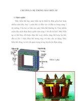 Tài liệu thiết kế hệ thống cung cấp điện cho xí nghiệp, Chương 2 ppt