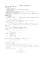 Hệ thống kiến thức Vật lý ôn thi Đại học