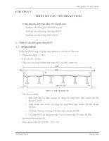 Tài liệu Bài giảng Tin ứng dụng CHƯƠNG V THIẾT KẾ CẦU VỚI MIDAS CIVIL docx
