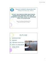 Tài liệu RESEARCH INSTITUTE FOR AQUACULTURE NO2 pptx