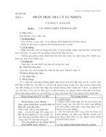 Bài soạn Giáo án địa lý 10