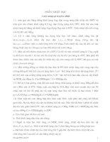 Tài liệu De cuong on HSG ly 9 - Phan dien hoc