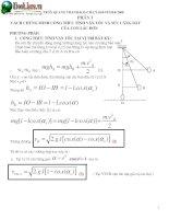 Tài liệu Chứng minh công thức vật lý-vận tốc-lực căng dây-con lắc đơn docx
