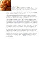 Tài liệu Ngộ nhận về trứng gà pdf
