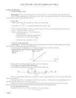 Bài soạn Chuyên đề bồi dưỡng Vật Lý 8