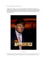 Tài liệu Quan điểm lãnh đạo của Donald Trump pptx