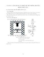 Tài liệu Chương 5: Ứng dụng và thiết kế hệ thống truyền động thủy lực pptx