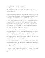 Tài liệu Những tố chất cần có của một nhà lãnh đạo pdf