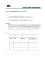 Tài liệu Lab 2.3.7 OSI Model Characteristics and Devices docx