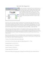 Tài liệu Lập trình Ajax Suggestion pdf