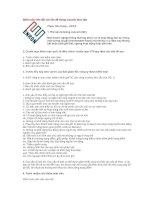 Tài liệu Kiểm toán viên đối với vấn đề Going concern theo ISA pdf