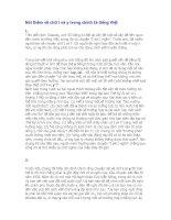 Tài liệu Nói thêm về chữ i và y trong chính tả tiếng Việt pptx