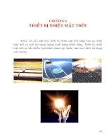 Tài liệu Thiết bị nhiệt mặt trời pptx