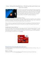 Tài liệu Fring - Hướng dẫn dùng điện thoại PDA ppt