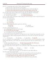 Bài giảng TRẮC NGHIỆM: LƯỢNG TỬ ÁNH SÁNG