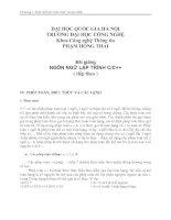 Tài liệu Ngôn ngữ lập trình c&c++ ( Phạm Hồng Thái) P4 docx