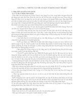 CHƯƠNG 1: NHỮNG VẤN ĐỀ CƠ BẢN VỀ KIỂM TOÁN NỘI BỘ