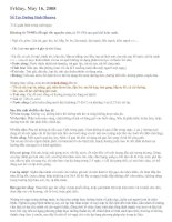 Tài liệu Sổ tay dưỡng sinh Ohsawa ppt