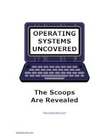 Tài liệu OPERATING SYSTEMS UNCOVERED docx