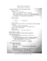 Tài liệu Đề ôn thi TN THPT năm 2010 - Đề số 13